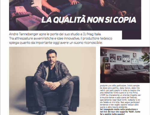 Interview with DJMAG Italy